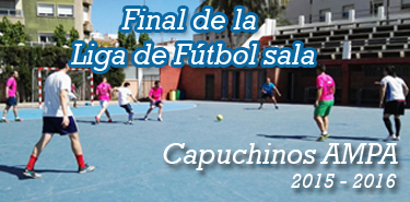 Cartel Final Liga Capuchinos AMPA 2016