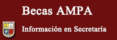 Cartel web Becas AMPA