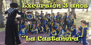 Cartel web Excursion infantil 3 La Castanera