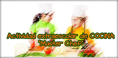Cartel web Master chef