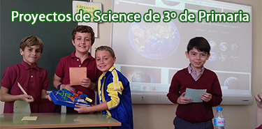 Cartel web Proyectos Science 3º