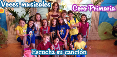 Cartel web cancion Coro Primaria